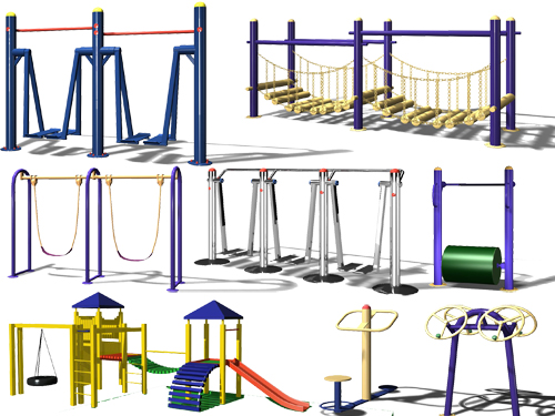 Indoor fitness equipment  3-5
