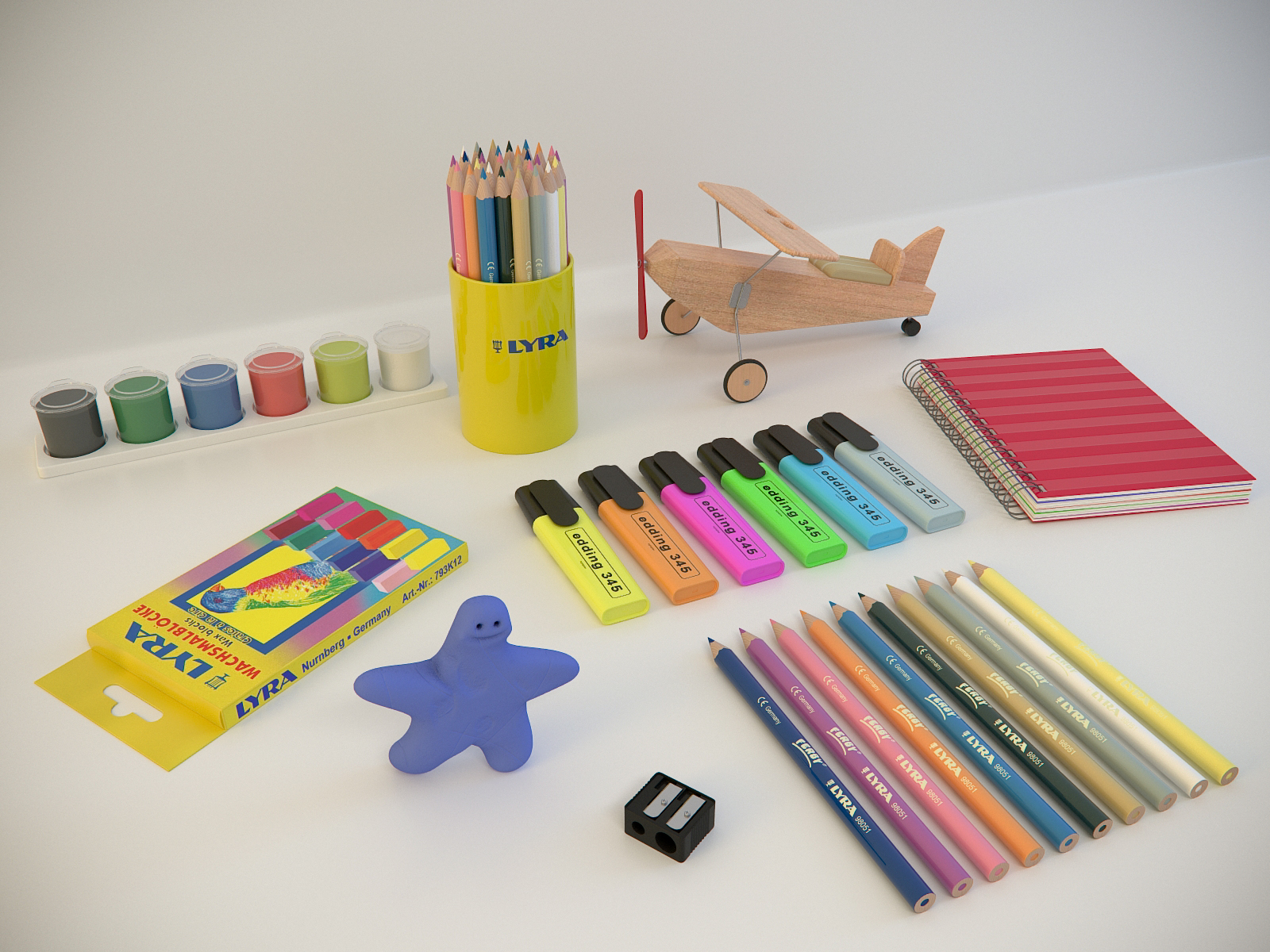 All kinds of painting supplies