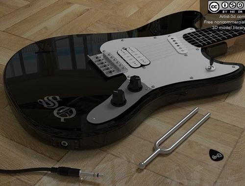 Electric guitar fashion