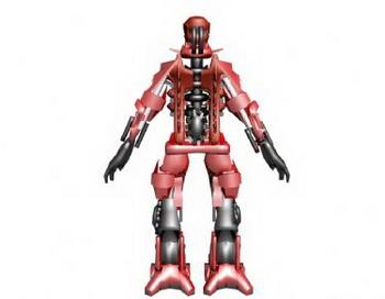 Red robot model