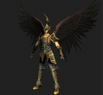Flying Warrior 3D Models (max format, with map)