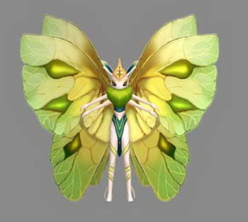 3D Model of butterfly Wizard