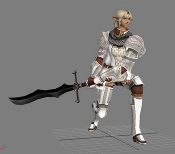 Korean Online Game Character: Lineage 2