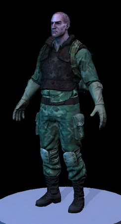 PC Game Character 3d Model: Special Force Soldier