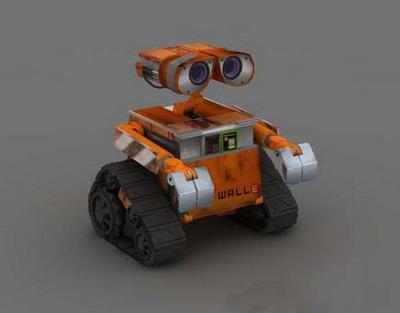 3DsMax Model: ET Robot Model