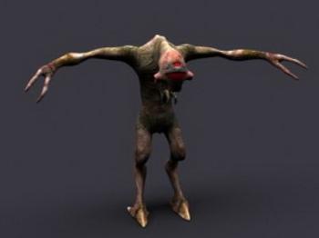 3D Model of ferocious beasts