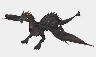 Cartoon Character Model: Evil Dragon