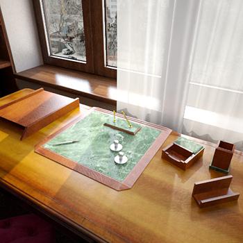 Study supplies 3D model