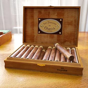 San Fernando Humidor Boxed cigars
