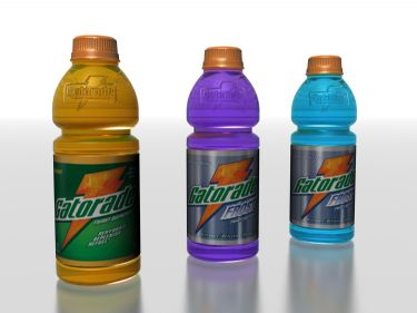 3D Model of Sports Energy Drink