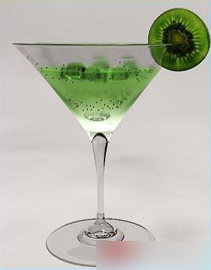 Cocktails - a martini 3D model