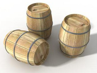 Scene model cask