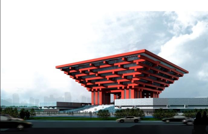 Shanghai Expo Pavilion: China Pavilion