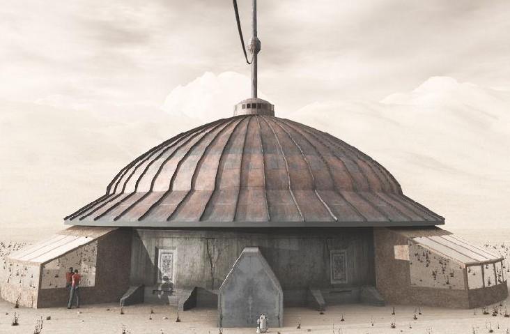 Mongolian style domes