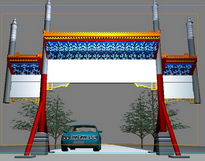 Color Torii 3D Models