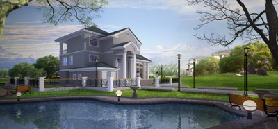 Exterior Model:Detached Villa With Lakeview