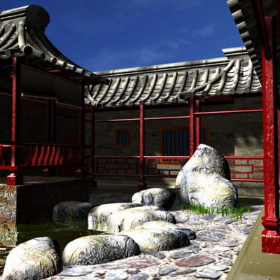 Chinese Traditional Architecture Series: Cloister Courtyard Wall