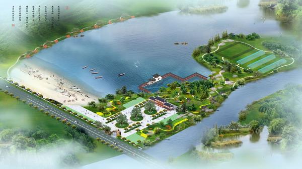 Agro-ecological tourism park model