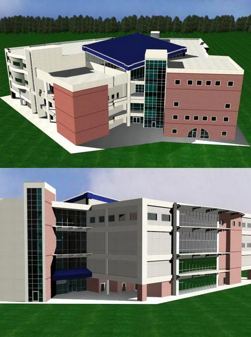 School Teaching Building   !