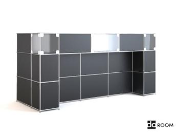 3D model of the tile walls