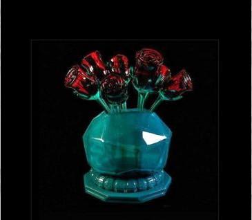 Beautiful rose vase