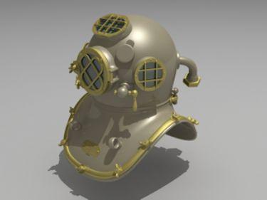 Underwater helmet