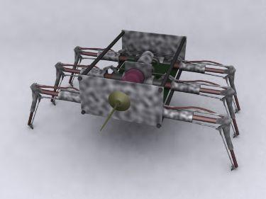Spider-shaped robot 3D Models