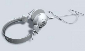 Headphone 3D models (mb format)