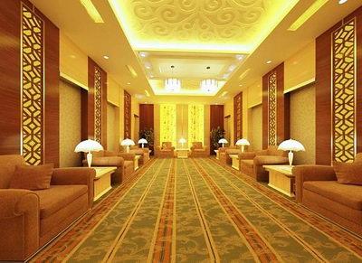 Luxurious reception room