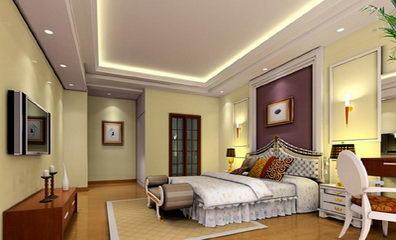 Modern and conciseness bedroom