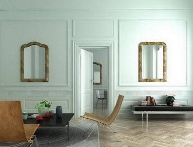 White style living room