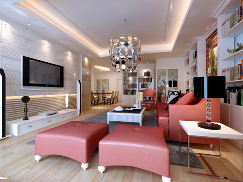 Delicate Modern Living Room Collection