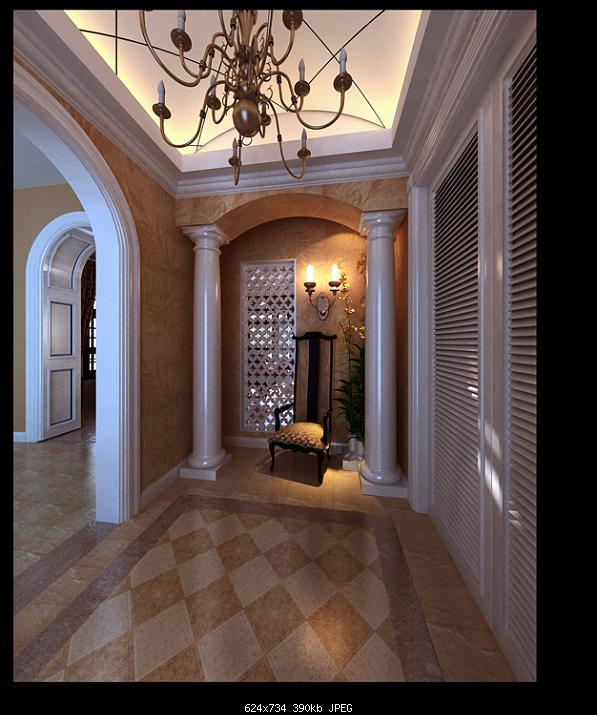 European Style Lobby Design