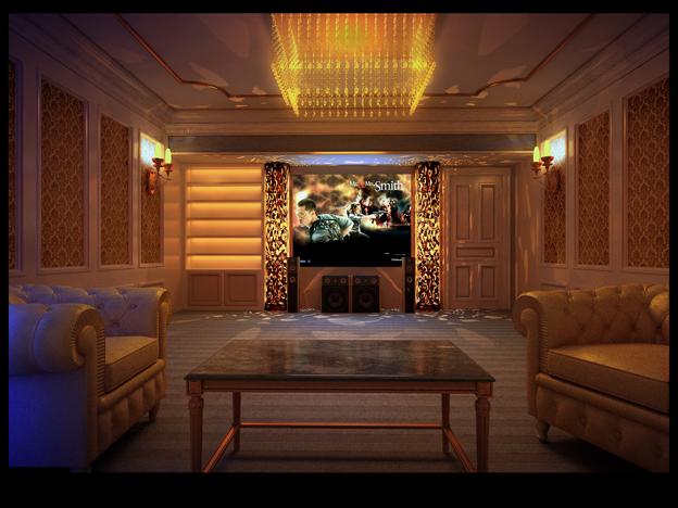 Deluxe Hifi Room Design
