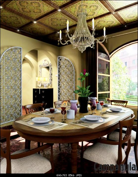 French Conuntry Style Dining Room