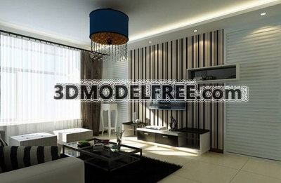 Modernism Living room Decoration Design