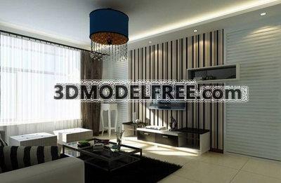 Modernism Living room Decoration Design