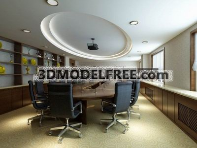 Modern Style Conference Room