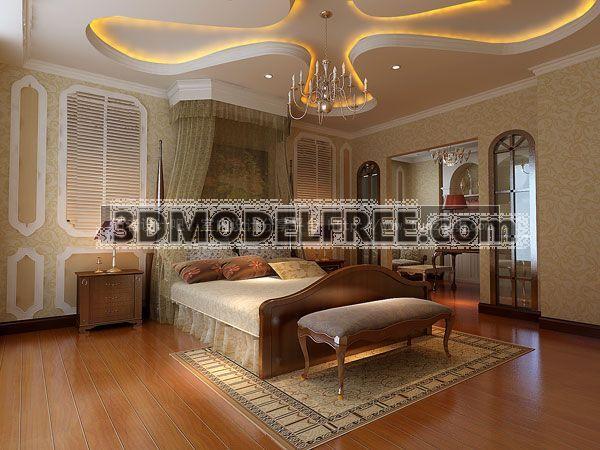 Modern Style Bedroom_ Americanism