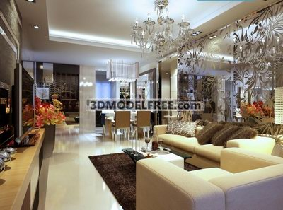 Modern Luxury Living Room Design