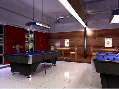 Billiard Ball Bar