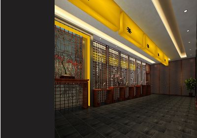 Tea House/Restautant Model