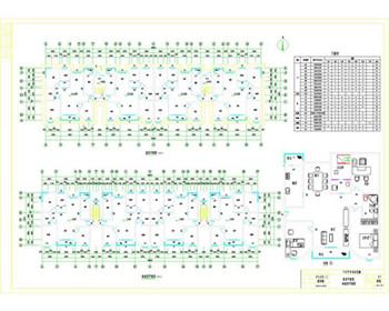 110 residential buildings CAD design