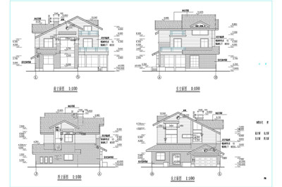 Independence house villa construction plans 3 free download Home drafting software free