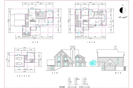 European-style two-tier semi-basement villa