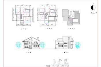 The Three Tier Lifter Villa Cad Drawings Free Download