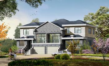 European style modern luxury villa