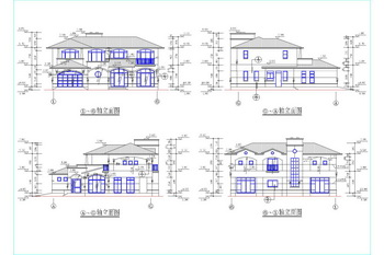 Double-layer with terraces construction drawings