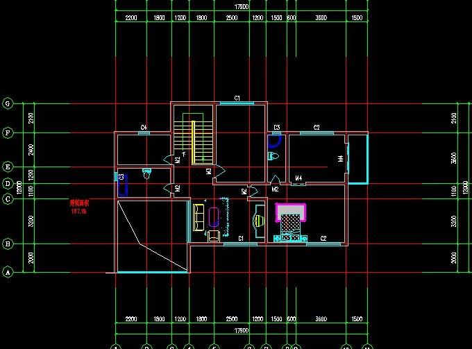Cottage residential construction CAD design