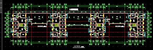 Six-storey house CAD design